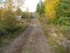 Arbetet på leden Bomhus-Älgsjön